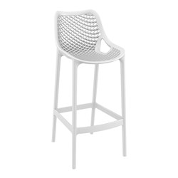 AIR BARSTOOL 75 WHT