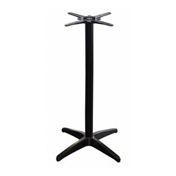 ASTORIA BLK BAR TABLE BASE SUIT 700MM TOPS