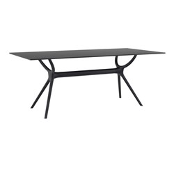 AIR TABLE 180 BLK TOP & BASE