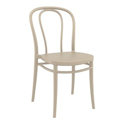 VICTOR CHAIR TAUPE