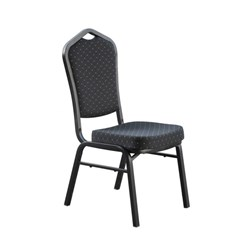 FUNCTION CHAIR BLK FABRIC BLK FRAME