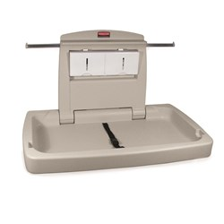 BABY CHANGE TABLE HORIZONTAL ANTI-MICROBIAL PLATINUM