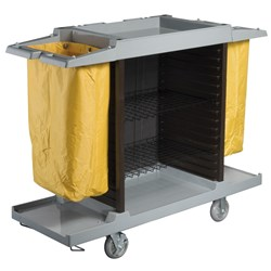ROOM SERVICE TROLLEY GREY 1480X550MM