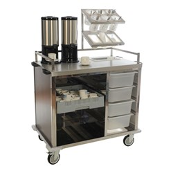 SERVICE TROLLEY BEVERAGE 1050X620X1426MM
