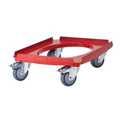 GO BOX UNIVERSAL DOLLY RED 250KG CAP.