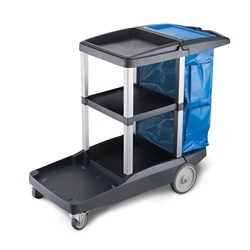 JANITORS CART PLATINUM JC-3000ZX
