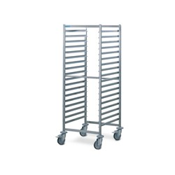 GASTRONORM TROLLEY S/S RWG-1-18 664X744X1667MM