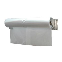WALL BRACKET SUIT TROLLEY COVER 1250X700X2000MM (3)
