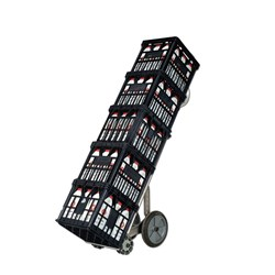 TROLLEY HAND TRUCK MILK CRATE
