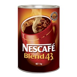COFFEE BLEND 43 NESCAFE 1KG (6)