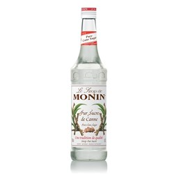MONIN SYRUP CANE SUGAR 700ML GLASS (6)
