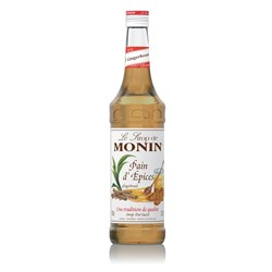 MONIN SYRUP GINGERBREAD 700ML GLASS (6)