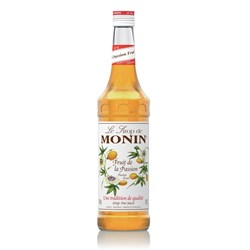MONIN SYRUP PASSIONFRUIT 700ML GLASS (6)