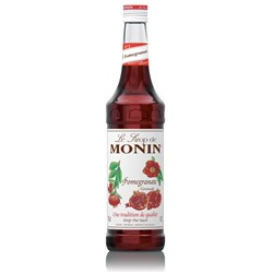 MONIN SYRUP POMEGRANATE 700ML GLASS (6)