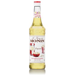 MONIN SYRUP POPCORN 700ML GLASS (6)