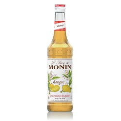 MONIN SYRUP MANGO 700ML GLASS (6)