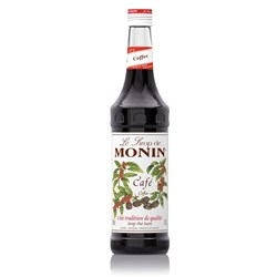 MONIN SYRUP COFFEE 700ML GLASS (6)