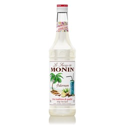 MONIN SYRUP FALERNUM 700ML GLASS (6)