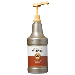 MONIN CARAMEL SAUCE 1.89LT BOTTLE (4)