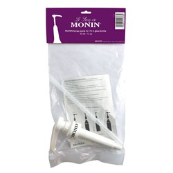 MONIN SYRUP PUMP 1LT PET 10ML PC