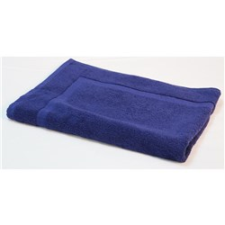 ESSENTIAL BATH MAT CVD NAVY BLUE 500X700MM 650GSM (20)