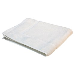 ESSENTIAL BATH MAT WHT 500X700MM 650GSM (20)