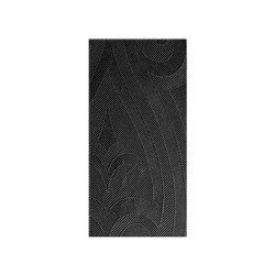 SUPERIOR LILY NAPKIN BLACK 1/8 FOLD 480X480MM 240/CTN