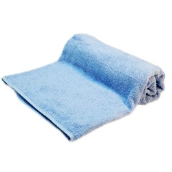 ESSENTIAL BATH TOWEL CVD SKY BLUE 700X1400MM 450GSM (40)
