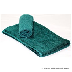 ESSENTIAL HAND TOWEL CVD GRN 380X640MM 450GSM (30)