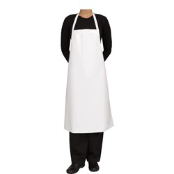BIB APRON PVC BLK 680X890MM SHORT