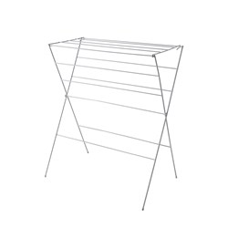 CLOTHES AIRER 12 RAIL WHT PLASTIC COATED 1000X740MM (10)