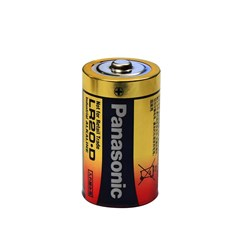 BATTERY D SIZE ALKALINE (10)
