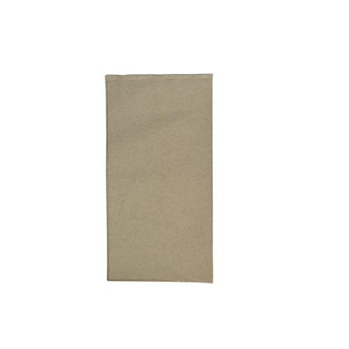 A LA CARTE DINNER NAPKIN BROWN KRAFT R/FOLD RECYCLED 1000/CTN
