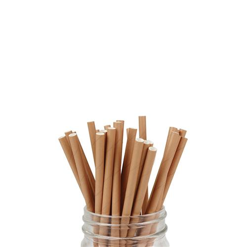 PAPER STRAW REGULAR KRAFT BROWN 5000/CTN