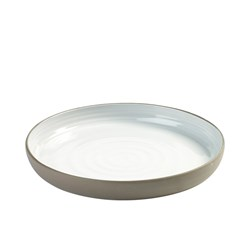DUSK PLATE 268MM WHT/CHARCOAL (8)