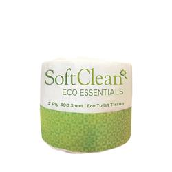 SOFT CLEAN 2PLY 400SHT TOILET ROLL 48/CTN ESSENTIALS (36)