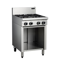 COOKTOP 4 BURNER ON LEG STAND 600X800X1085MM