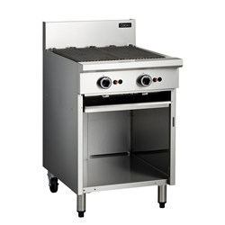 BARBECUE ON OPEN CABINET GAS 600X800X1085MM