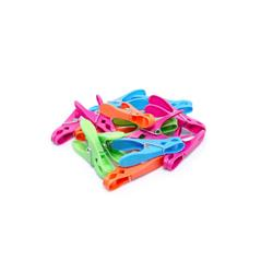 CLOTHES PEGS PLASTIC 30/PKT COLOURED (6)