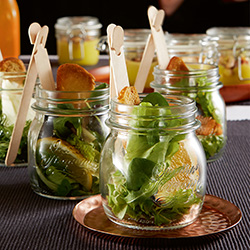 Glass Jars & Servingware