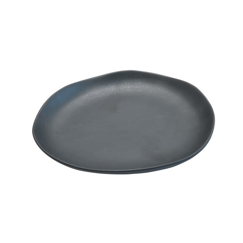 CAFE NERO PLATE 280X255MM BLK W/- SPECKLES (3/12)