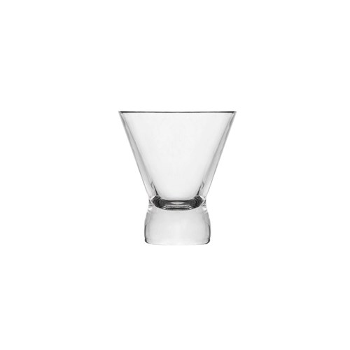 COCKTAIL GLASS 200ML PCARB V SHAPE HEAVY BASE (24)