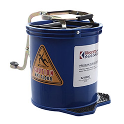 MOP BUCKET MOBILE BLUE 15L PLASTIC (2)