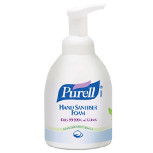 HAND SANITISER FOAM 535ML PUMP BOTTLE PURELL (4) 70% FOAM